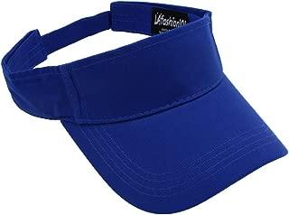 LAfashion101 Sun Sports Visor Hat Cap - Classic Cotton for Men Women