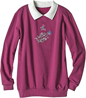 Best plus size embroidered sweatshirts Reviews