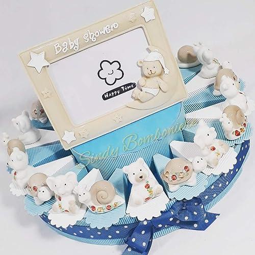 nueva marca Tarta Tarta Tarta para bautizo nacimiento con elefantes y osos Niño  tienda de pescado para la venta