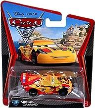 Disney Pixar Cars 2 Movie Series Mattel 1:55 Scale Die Cast Car #23 Miguel Camino
