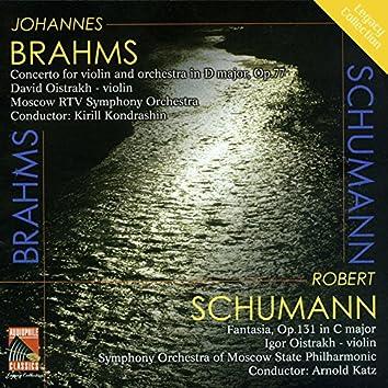 Brahms: Violin Concerto - Schumann: Fantasy for Violin