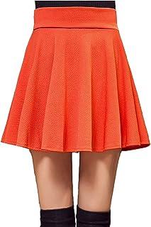 74fbc5599b7c9a Amazon.fr : Jupe Courte Rouge - Orange