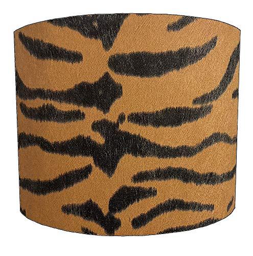 8 Inch oranje tijger print Ontwerp Lampenkap Voor een Plafond Licht
