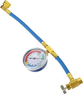 with Measuring Pressure Gauge Refrigerant Charge Hose Refrigerant Filling Hose Gauge DIY Air Conditioning Charging Hose M1...
