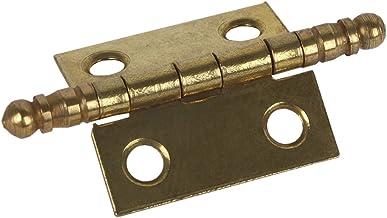 Cofan 61001195A scharnier van ijzer, messing, 60 x 40 mm, 2 stuks