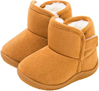 Finleoo Boys Girls Warm Winter Baby Toddler Snow Boots(Toddler/Little Kid)