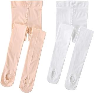 Linodes Ultra Soft Convertible Dance Tights/Ballet Transition Tight (Toddler/Little Kid/Big Kid/Women)
