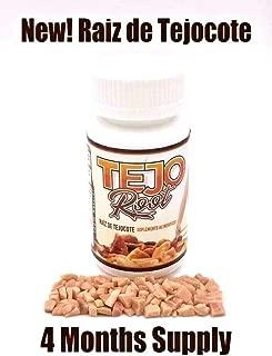 New! TejoRoot Raiz de Tejocote Root 4 Month Supply AlipoTecojote Supplement Guaranteed Pure Root Supplement 4 Meses Raiz de Tejocote-120 Count Root