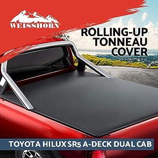 Weisshorn Tonneau Cover for Toyota HILUX SR5 A-Deck Dual CAB