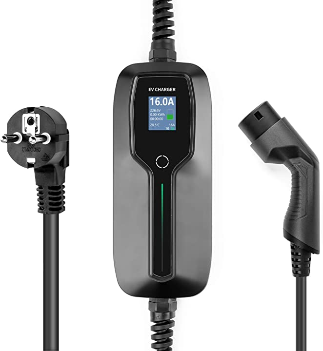 Ricarica portatile caricabatterie per auto elettrica tipo 2 lefanev BS-PCD031