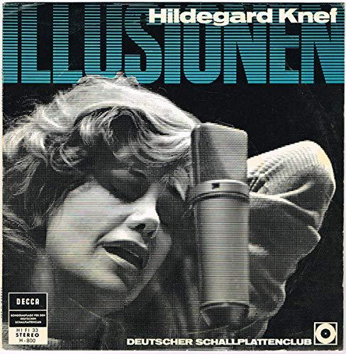 Hildegard Knef - Illusionen - Decca - H-800, Deutscher Schallplattenclub - H-800