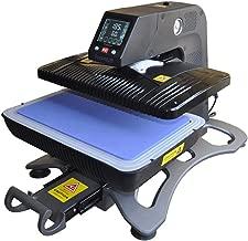 110V Multifunctional Auto Open Pneumatic Heat Press Machine, 3D Sublimation Vacuum Heat Press Transfer Machine