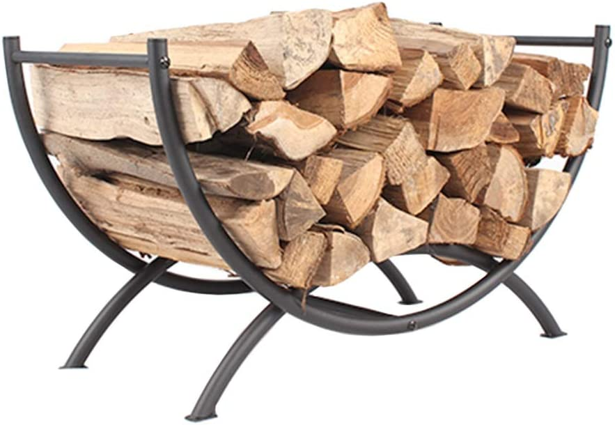Heavy Duty Firewood List price Rack Outdoor Log Storage Holder Free shipping / New for Firewoo