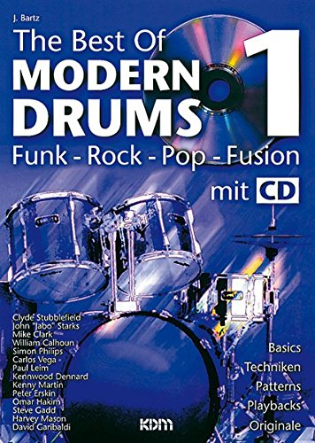 The Best of Modern Drums: BD 1 (Buch & CD)