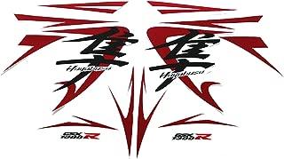 Full Body Frame Fairing Silk-Sceen Printed Decals Stickers For Suzuki GSXR1300 Hayabusa 2008-2012