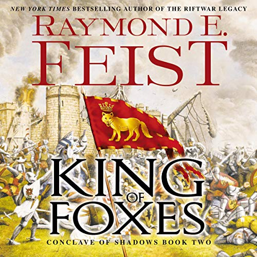 King of Foxes audiobook cover art