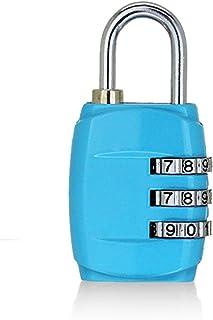 BIUDUI Bagageslot, cijferslot, hangslot, slot, kabelslot, metalen slot, voor fitnessstudio, bagagekast, mini anti-diefstal...