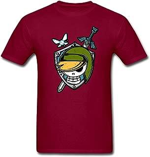 Flotrees Link Legend Sword Skull european version Men's Shirt