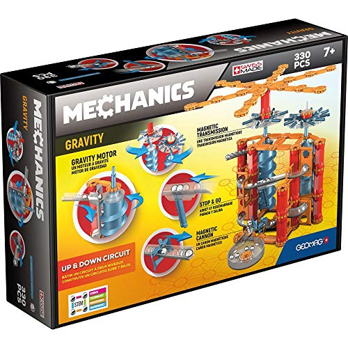Geomag - Mechanics Gravity 776, Up & Down Circuit, Jeu de Construction, GM303, Multicolore, 330 Pièces