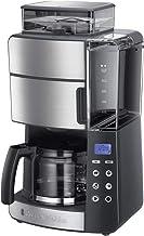 Russell Hobbs Grind&Brew Digitaal Koffiezetapparaat (incl. Glazen Kan), Programmeerbare Timer, Geïntegreerde Koffiemaler, ...