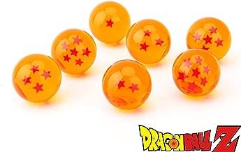 CYRAN Dragon Ball Z Crystal Dragon Balls 7 Stars 7pcs Anime 3.5cm Dragon Balls Yellow