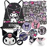 Kuromi Gift Set, Bag Stickers Airpods...