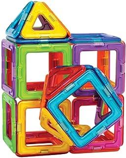 مجموعة مكعبات البناء، مجموعة بناء للأطفال الصغار لبناء الأشياء ألعاب تعليمية للأطفال الصغار من الأولاد والبنات، 47 قطعة