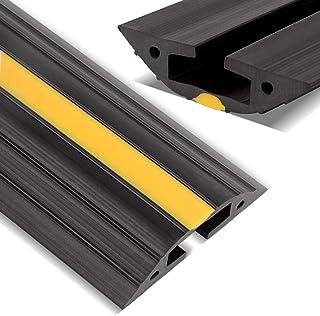 Stageek Kabelbrug, 1,83 m vloerbedekking kabelgoot bodemafdekking PVC-kabelbescherming bodemkabelgoot voorkomen reisgevaar...
