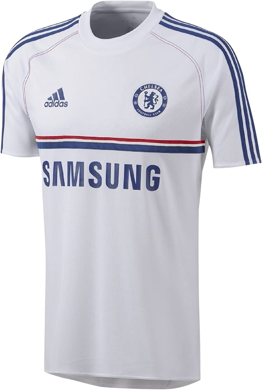Adidas 2013 – 14 Chelsea Training Shirt (Weiß) B00DT32NE6  Authentische Garantie