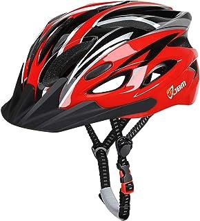 کلاه ایمنی دوچرخه سواری بزرگسالان JBM ویژه مردان محافظت از ایمنی زنان CPSC دارای مجوز (18 رنگ) کلاه سبک قابل تنظیم