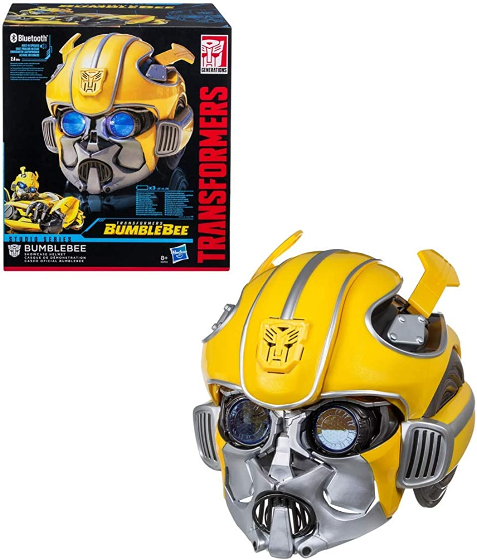 Transformers Studio Series - Auriculares electrónicos Premium Bumblebee con conexión Bluetooth, juego de imitación