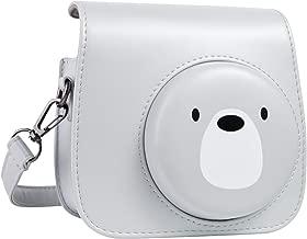 QUEEN3C Cute Bear Mini 9 Camera Case Bag with Adjustable Strap for Fujifilm Instax Mini 9 Mini8 Mini8+ Instant Camera. (Cute Bear)