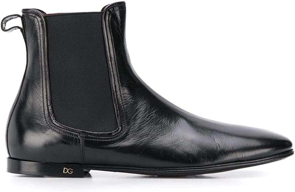Dolce & gabbana luxury fashion stivaletti in vera pelle uomo A60269AX19980999
