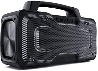 Bluetooth Speaker, BUGANI M118 Portable Bluetooth Speakers,50W High Volume,Microphone Input,IPX 7 Waterproof Speaker,Wirel...