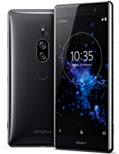"Sony Xperia XZ2 Premium Unlocked Smartphone - Dual SIM - 5.8"" 4K HDR Screen - 64GB - Chrome Black (US Warranty)"