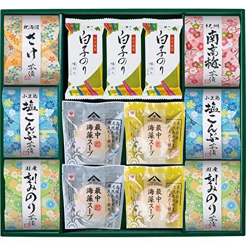Shirakonori(白子のり) 茶漬 味之庵〜のど黒最中スープ付〜(2665-50)