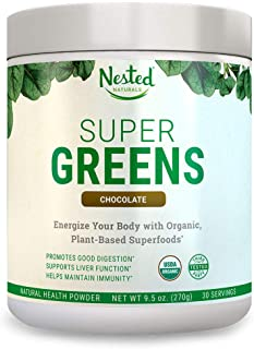 super greens plant protein