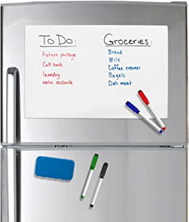 Best dry erase board for stainless steel refrigerator Reviews