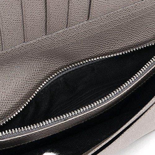 ブルガリBVLGARI財布長財布メンズ二つ折りレザー本革BVLGARIBVLGARIブルガリブルガリマンストーングレー30399STONEGREYシンプル