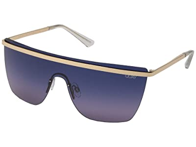 QUAY AUSTRALIA Quay x JLo Get Right (Gold/Blue Purple) Fashion Sunglasses