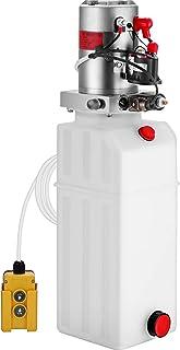 Mophorn 10 Quart Hydraulic Pump 12V Hydraulic Pump Single Acting Dump Trailer Hydraulic Pump for Dump Truck