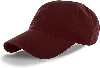 DealStock Plain 100% Cotton Hat Men Women Adjustable Baseball Cap (30+ Colors)