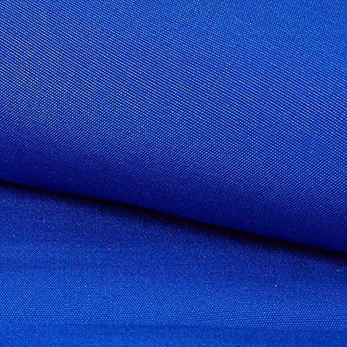 Extérieur Tissu pour chaise longue Rayures verticales, 44 cm – bleu roi — Vendu au mètre à 0,5m — Oeko-Tex Standard 100 classe de produit II — pour coudre Décoration et Fauteuils