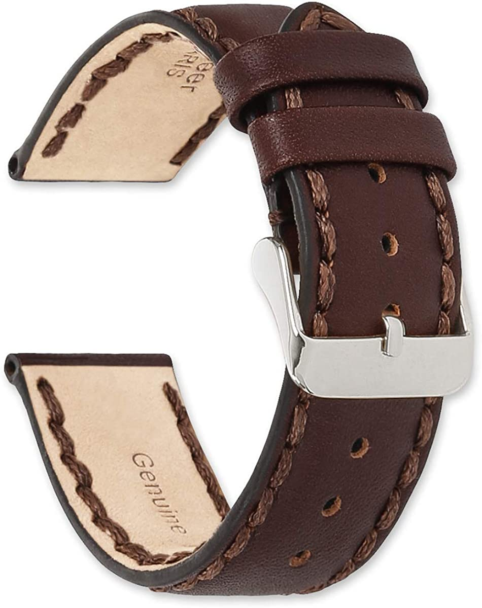 deBeer Hand Stitched Philadelphia Free shipping on posting reviews Mall Genuine Oil Leather Watch Band Replacement