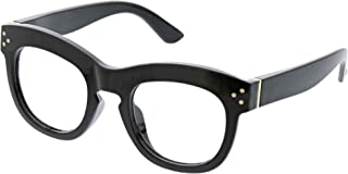 Peepers by PeeperSpecs Women's Bravado Focus Oversized Blue Light Filtering Reading Glasses
