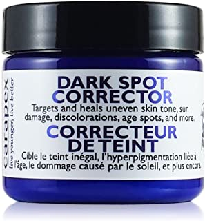 Carapex Dark Spot Corrector, for Uneven Skin Tones, Acne Scars and Marks, Gentle Treatment Cream Suitable for Face, Body and Hands, Packed with Natural Ingredients