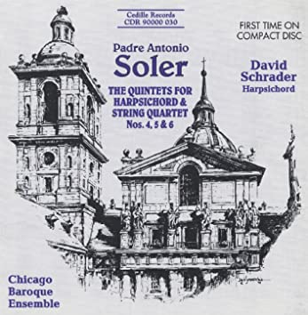 Soler: Quintets for Harpsichord & Strings