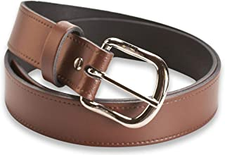 Hawkdale Real Leather Belt - Black, Brown, Tan - 20, 25, 30, 40mm Widths - Made In The UK