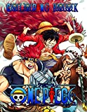 One Piece Coloring Book: Anime Coloring Books for Luffy and Friends Fans