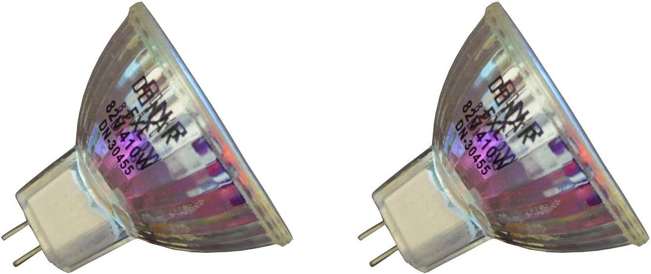2-Pack Deal 82V 410W FXL Replacement Bulb for Dukane SunSplash Overhead Projector 653 - SF5510 SF4030 - SF4010HD Steel Case - SP4128 SP4134 SP4234 SP4236 HD4010 SP4123 SP4127 SP4136 28A4001 28A4002 28
